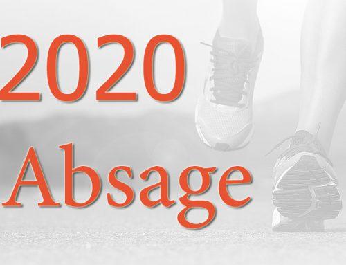 Arcadenlauf 2020 – Absage