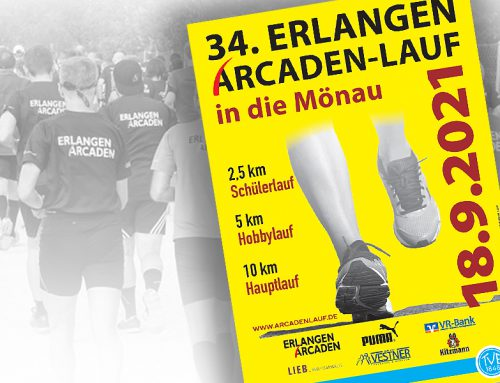 34. Erlangen Arcadenlauf am 18.09.2021